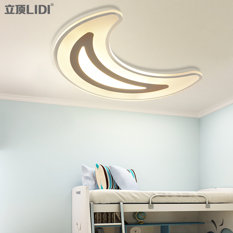 ceiling lighting children's bedroom light LED ceiling light modern minimalist slim remote control lighting Restaurant vemma acrylic minimalist modern led ceiling lamps kitchen bathroom bedroom balcony corridor lamp lighting study