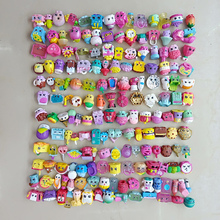 50pcs/lot Many styles cartoon miniature shopping fruit dolls Action figures for family kid Christmas Gift Play toy mixed season