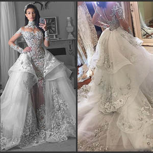 top 10 largest mermaid turtleneck wedding gown list