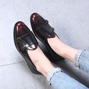 Image 5 - Nam Cho Nữ Giày Da Cho Nam Công Sở Oxford Đế Thời Trang Cho nam Size Lớn 38 47