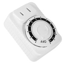 цена на Programmable Timer Plug Home Security Electrical Time Socket Smart 10A Mechanical Timer Plug Timing Timer Socket