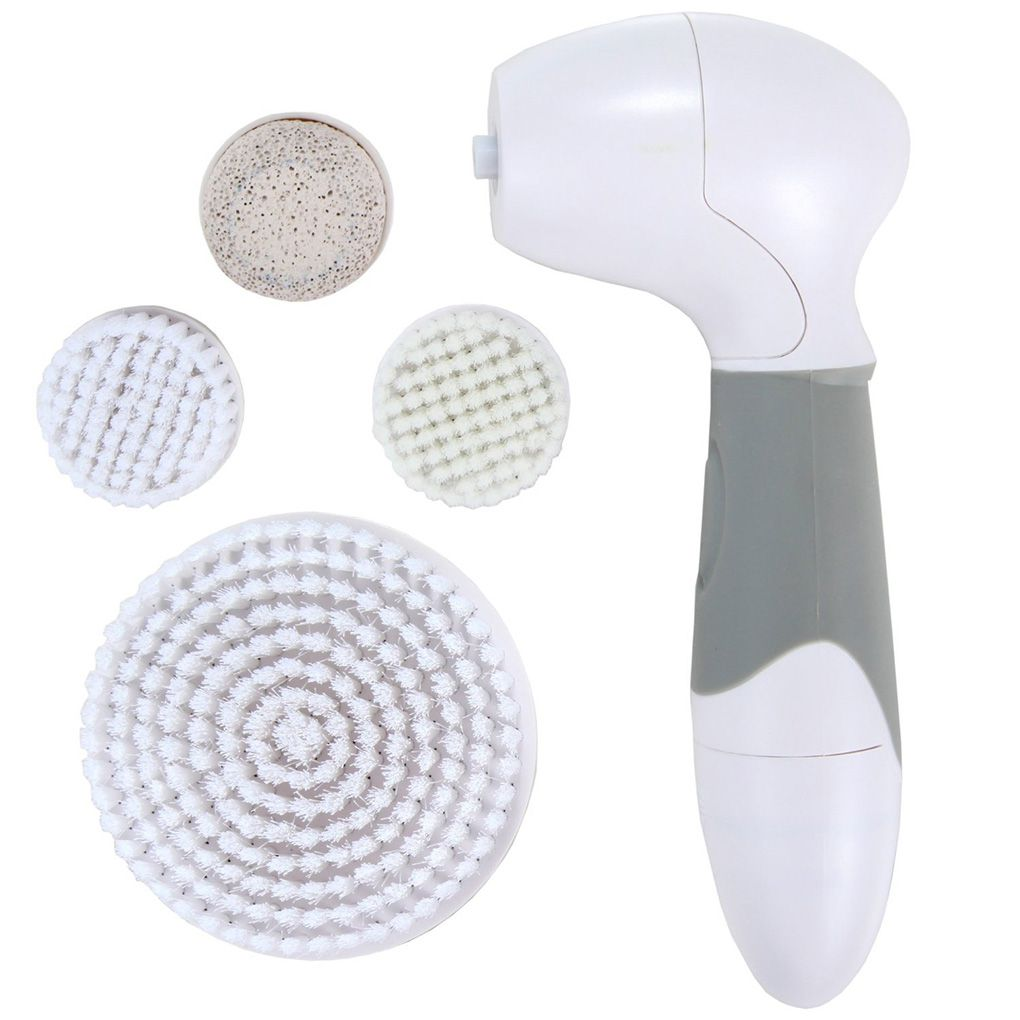 Sonic Facial Cleaning Brush Waterproof Spin Electric Face Brush For Exfoliating Massaging