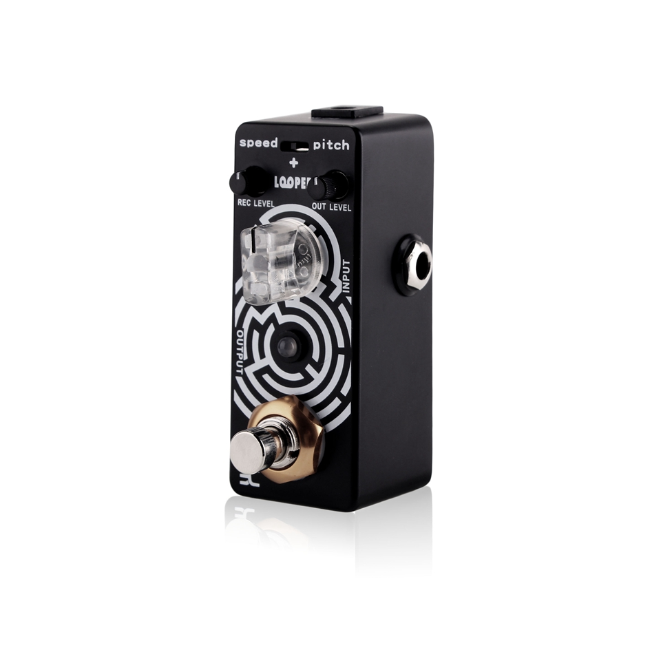 KOKKO Guitar Looper Pedal Electric Guitar Looper Effect Pedal Unlimited Overdubs 23 Minutes Recording True Bypass loop effect pedal 3 way looper switcher guitar effect pedal true bypass electric guitar parts accessories