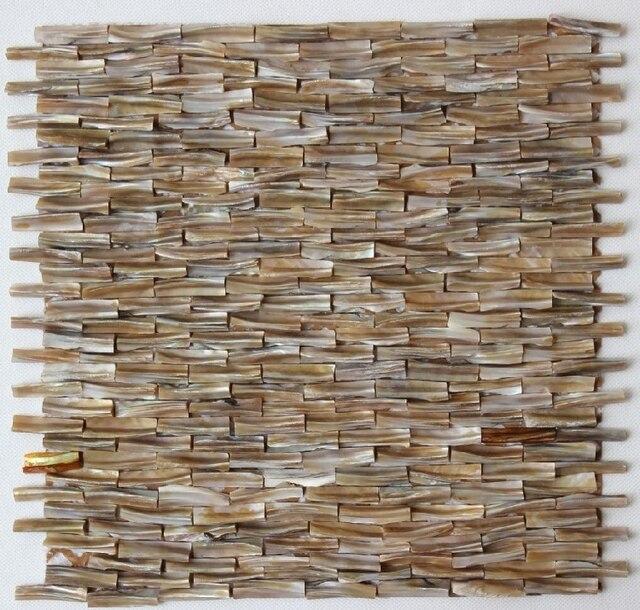 3d azulejo nacarado shell mosaicos se puso rígido diseños ideas ...
