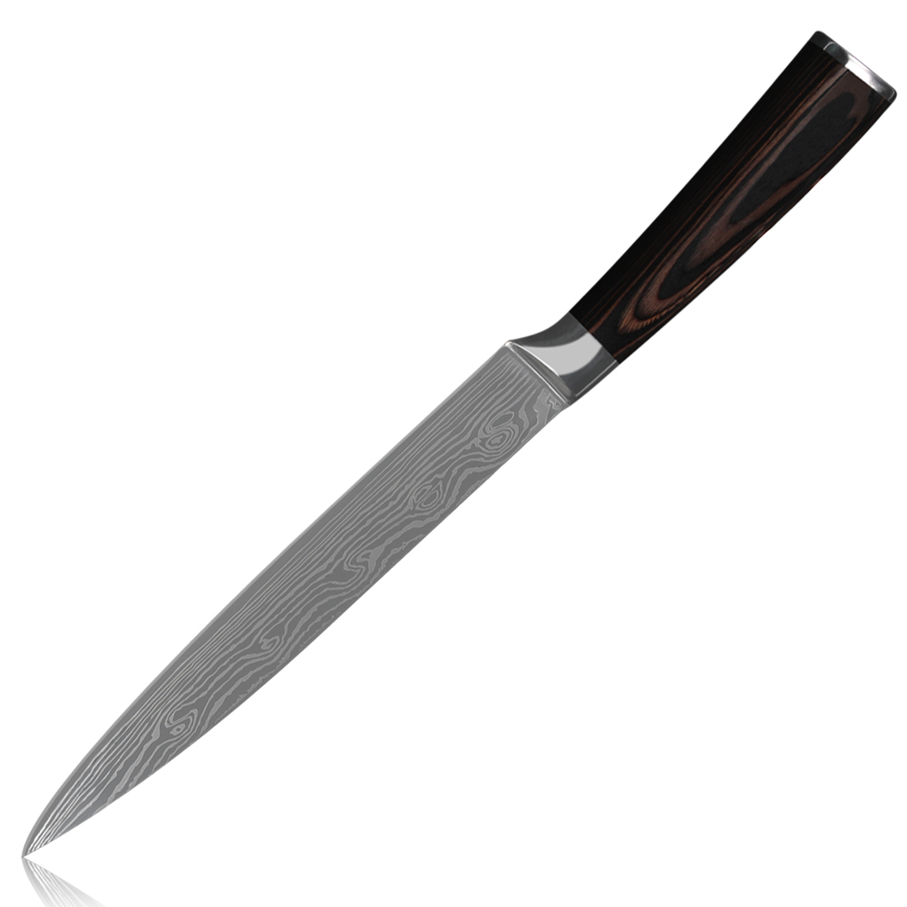 ღ ღsharp 8 pouce à trancher couteau 7cr17 acier inoxydable