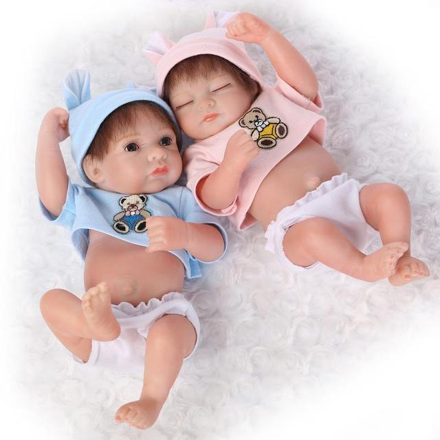 c94f68547e5f0 US $25.49 25% OFF|12Inch Soft Full Silicone Reborn Baby Dolls Water Proof  Handmade reborn Doll Swimming Girls Gifts Brinquedos Bonecas-in Dolls from  ...