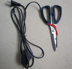 1 قطعة التدفئة الكهربائية خياط مقص الطاقة المقصات الساخنة سكين ساخنة القلم مؤشر العمل لقطع القماش