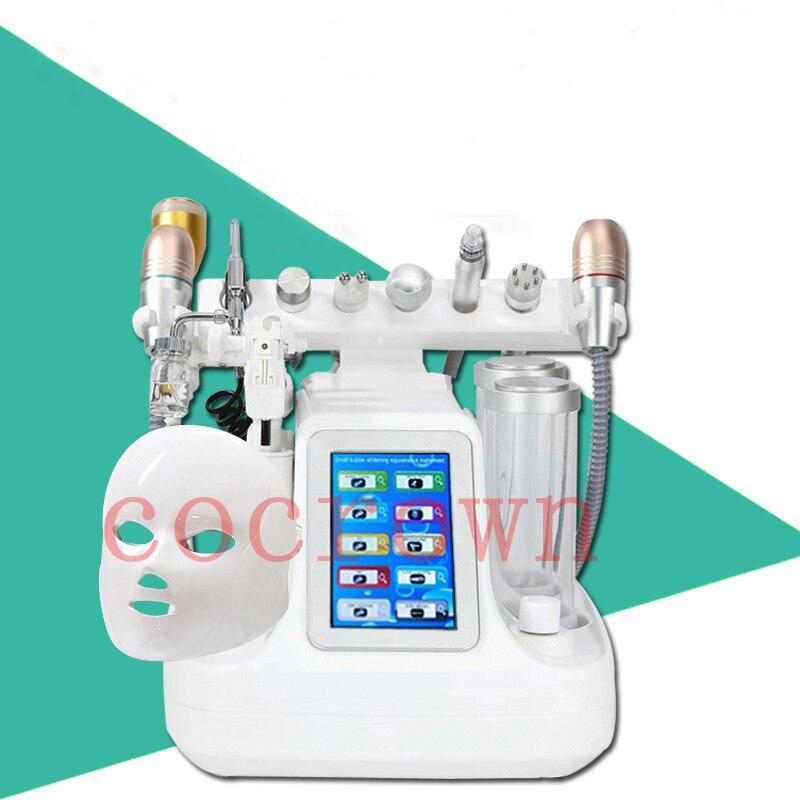 10 In 1 Hydra Dermabrasion RF Bio-lifting Spa Facial Machine Water Jet Hydro Diamond Peeling Microdermabrasion