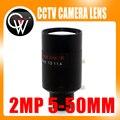 2 Megapíxeles 5-50mm Lente de Distancia Focal Variable D14 Montaje Ver Unos 100 m Para La Grabación Analógica/720 P/1080 P AHD/CVI/TVI/IP CCTV Cámara