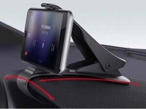 Image 5 - 6.5inch Dashboard Auto Telefoon Houder Gemakkelijk Clip Mount Stand Auto Telefoon Houder GPS Display Beugel Klassieke Zwarte Auto Houder ondersteuning