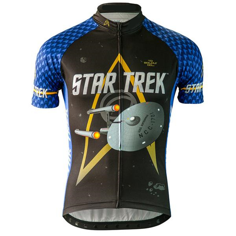 af80db99b Startrek Cycling Jersey Cycling Clothing Racing Sport Bike Jersey ...