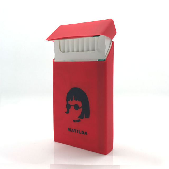 Women Cigarette Case  Silm Cigarettes Case Cover Silicone Smoking  Long Cigarete Case Box Cigarette Tobacco Box