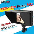 Viltrox DC-70HD Clip-em 7 ''1920x1200 IPS HD LCD Da Câmera de Vídeo exibição do monitor entrada av hdmi para canon nikon dslr bmpcc 5D3