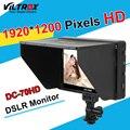 Viltrox DC-70HD Clip-on 7 ''1920x1200 IPS HD LCD de La Cámara de Vídeo bmpcc monitor hdmi de entrada av para canon nikon dslr 5D3