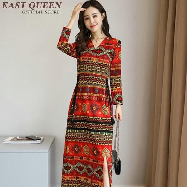 hippie bohemian stijl jurk hippie kleding vrouwen boho hippie jurk