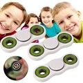 Hand Finger Spinner Fidget Reduce Stress EDC Pocket ADHS Toy Kids White
