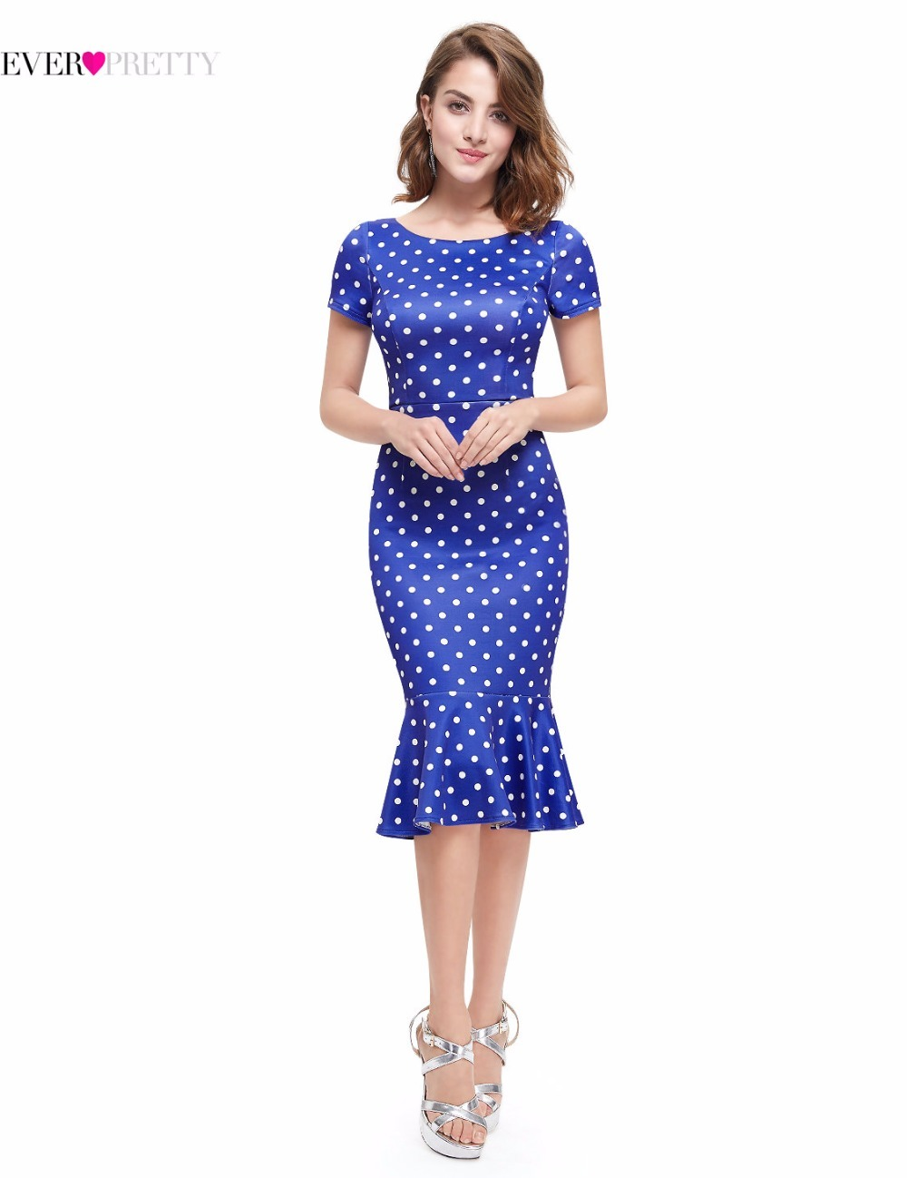 Vintage Cocktail Dresses 2018 Ever Pretty AS05348S...