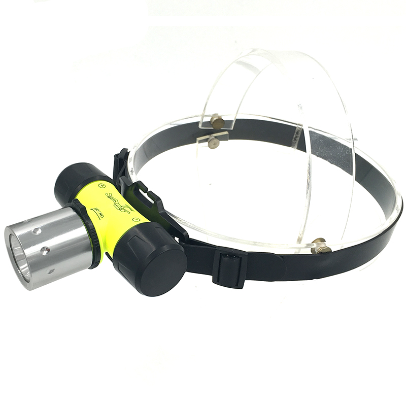 Litwod Z20 Diving headlamp Headlight underwater 50M Waterpoof XM-L T6 head lamp 2800 Lumen Head Flashlight for Swimming
