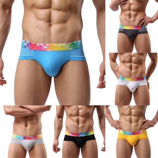 Men's Slip Lingerie Brave Spandex Bulge Enhancing Underwear