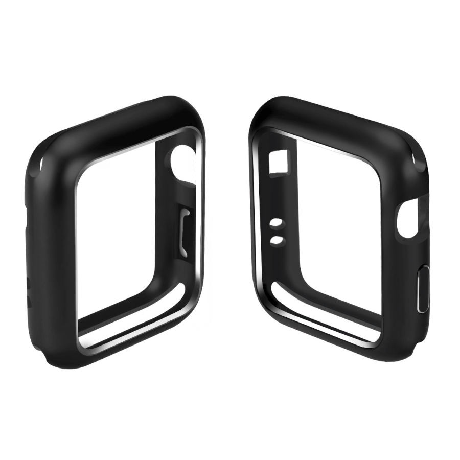Magnetic Adsorption Case Aluminum For Apple Watch 38mm 42mm Series 1 2 3 Watch All Protective Built-in Magnet Metal Frame Cover for iphone x case magnetic metal frame tempered glass back magnet flip cover