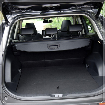 Untuk Toyota RAV4 XA50 2019 Kargo Perisai Keamanan Belakang Bagasi Parcel Rak Cover Hitam Mobil Styling Aksesoris