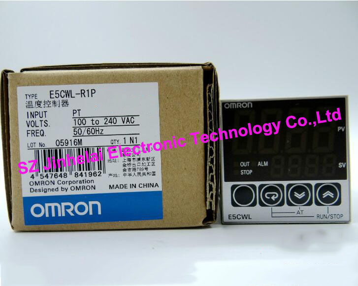 New and original  E5CWL-R1P  OMRON Temperature controllers  100-240VAC new and original e3x da11 s omron optical fiber amplifier photoelectric switch 12 24vdc