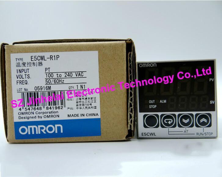 New and original  E5CWL-R1P  OMRON Temperature controllers  100-240VAC [zob] new original omron omron beam photoelectric switch e3jk tr12 c 2m 2pcs lot