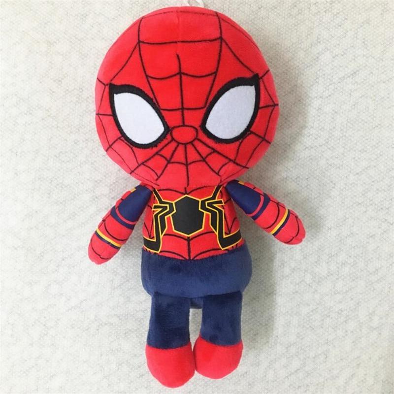 20cm The Avengers 3 Plush Toys Iron Man Deadpool Thanos Spiderman Stuffed Plush Toys Super Hero Doll Soft Toy
