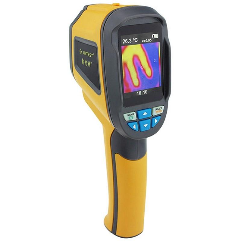 Thermomètre infrarouge numérique LCD pistolet IR Laser Point mélange Visible 2.4 pouce thermique infrarouge imagerie température pyromètre portable