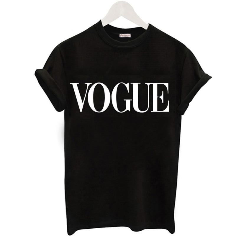 Women's Vogue Printed Cotton T-Shirt 1