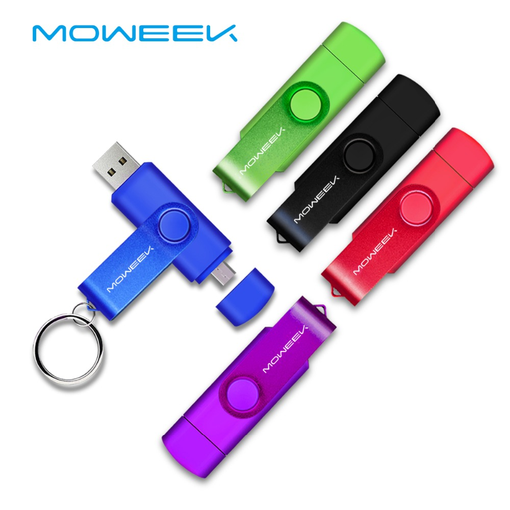 moweek usb flash drive 2018 cle usb 2 0 stick 64g otg pen. Black Bedroom Furniture Sets. Home Design Ideas