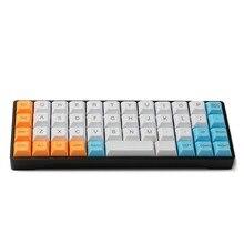 YMDK 40% YMD40 Kit de bricolage AMJ40 PCB CNC plaque de boîtier pour 40% Mini clavier mécanique mignon livraison gratuite