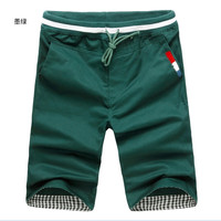 2017 Summer Clothing Style Men Casual Cotton Short Pants More Than 13 Color Optional Leisure Fitness