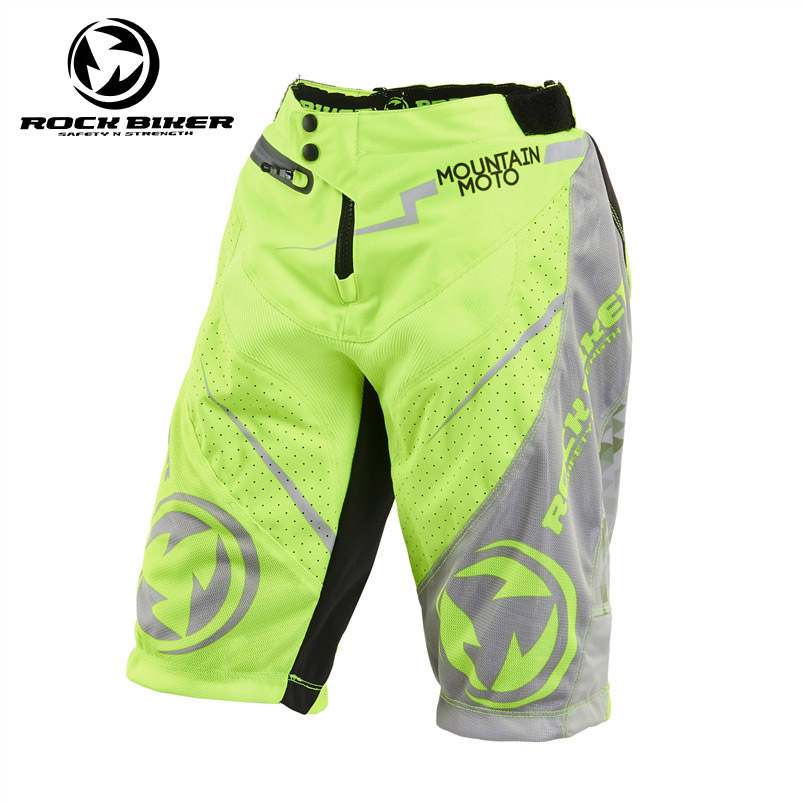 Off Road Motorcycle Racing Shorts With Hips Pads Protectors BMX MTB Dirt Bike Cycling Short Pants