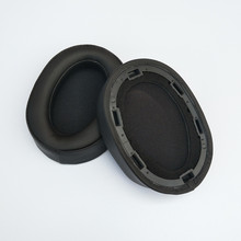 High Quality Soft Replacement Foam Ear Pads Cushions for Sony MDR-100ABN MDR 100ABN Headphones Earphone 9.22 95mm replacement soft foam ear pads cushions for sony mdr xd150 xd200 for rapoo h600 hedphones high quality 9 25