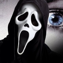 Halloween Ghost  Mask Cosplay Toy Children Party Show Frank Horror Toys Death is coming Jouet