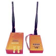 6 W Parede função penetrante 1.3G transceiver CCTV transmissor 1.3G Receptor Transmissor, 1.3G zangão transmissor tx para fpv