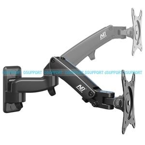 "Image 5 - NB F150 Aluminium Legierung 360 Grad 17 "" 27"" Monitor Halter Gas Frühling Arm LED LCD TV Wand montieren Laden 2 7kgs"