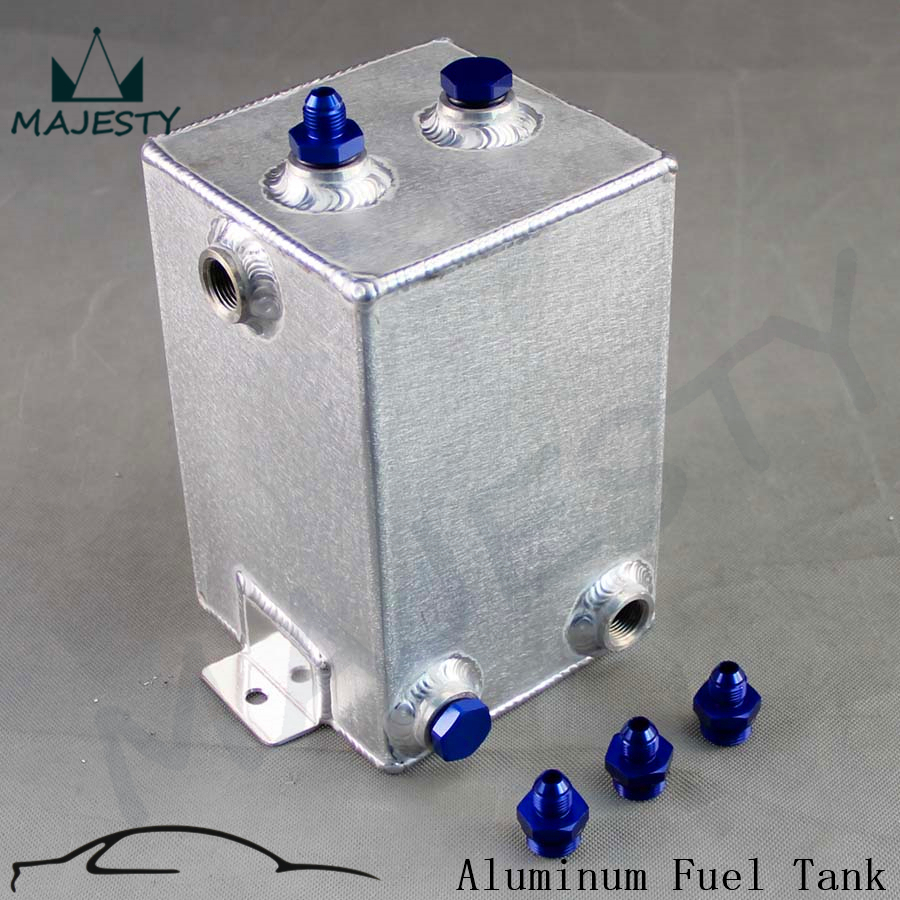 Universal Polishing Fuel Surge Tank Cell 3 Litre Swirl Pot System Aluminium New