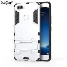 Wolfsay Cover For BBK Vivo X20 Plus Case Slim PC + Soft Rubber Armor Phone  Case For BBK Vivo X20 Plus Cover For Vivo X20 Plus 66082d90f0f4