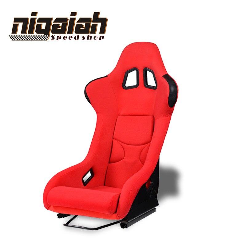 2 pièces LOT siège de seau de course à dérive universel rouge/bleu/noir/jaune siège de voiture de course de Sport siège de dérive