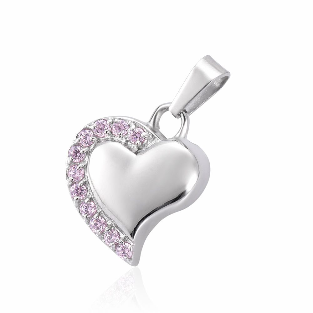 Ashes Crystal Heart Cremation Urn