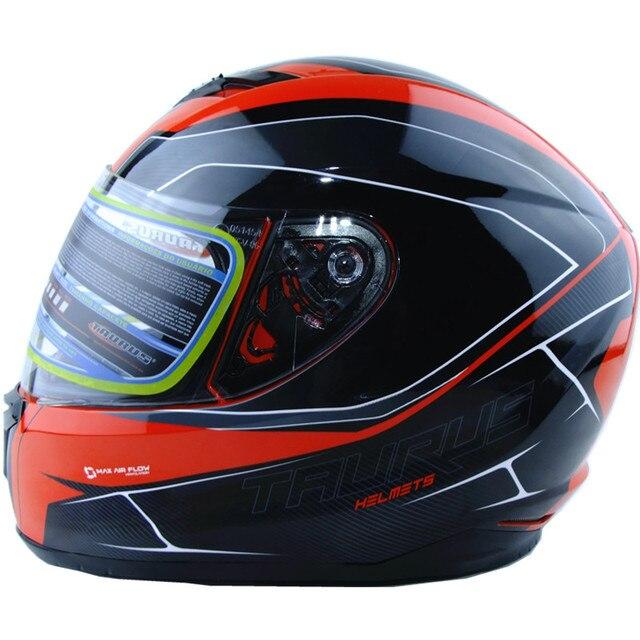 Vcoros neue ankunft XS größe motorrad helm winter volle gesicht racing helm capacete motoqueiro