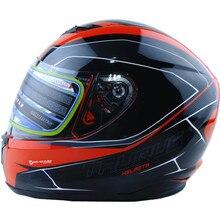 Vcoros nuovo arrivo XS size inverno del casco del motociclo del fronte pieno del casco da corsa capacete motoqueiro