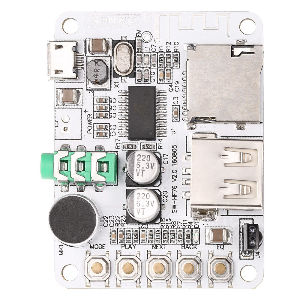 Usb Dc 5v Wireless Bluetooth 2 1 Audio Receiver Board Amplifier Circuit Buy Boardbluetooth Boardfm Aeproductgetsubject