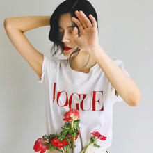 Summer New 2019 Fashion T Shirt Women VOGUE
