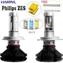 X3 H1 H3 H4 H7 H11 9005 9006 Car LED Headlights Bulbs 50W 6000LM with Philips