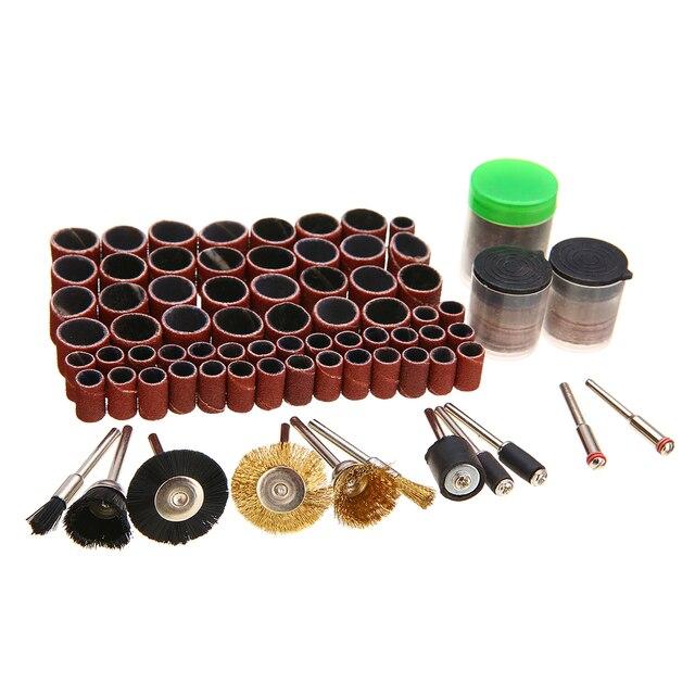150 pièces Kit multi outils rotatif pour artisanat tige meulage accessoires de polissage