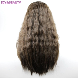 """Image 5 - JOY&BEAUTY 24"""" Long Synthetic High Temperature Fiber Hair Long Curly Wig Black/Brown Mix Women Cosplay Wig"""