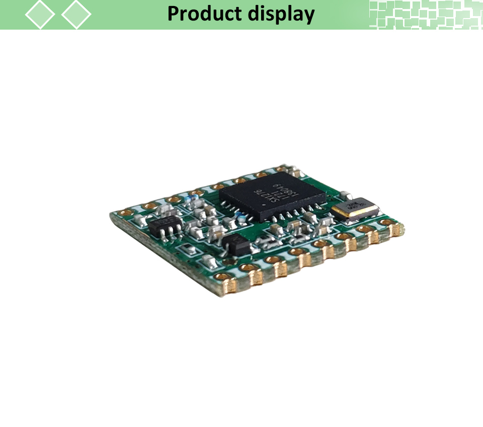 2pcs lorawan Transmitter Module With Original SX1276 Chip For Communication Receiver and Transmitter 10